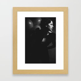 The Clown Framed Art Print