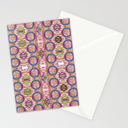 0306 All-in-pattern light Stationery Cards