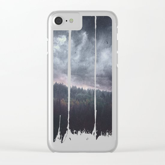 The hunger Clear iPhone Case