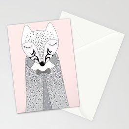Mrs Pokiha (white fox) Stationery Cards