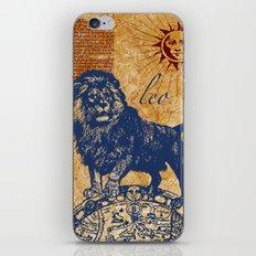 leo | löwe iPhone & iPod Skin