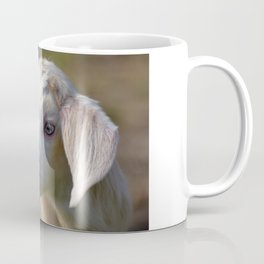 White Baby Goat Coffee Mug