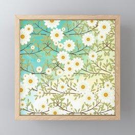 Springtime scene Framed Mini Art Print