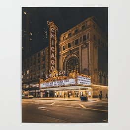 Chicago Theatre Poster