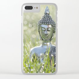Buddha in the sea of a thousand lights Clear iPhone Case