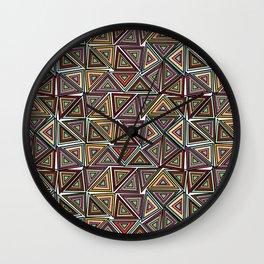 TRIANGULAR Wall Clock