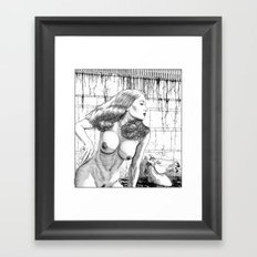 asc 652 - La femme fatale (Death by beauty) Framed Art Print