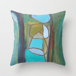 Circled by You Throw Pillow