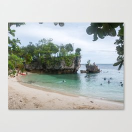 Salagdoong Beach, Siquijor Island, Philippines Canvas Print