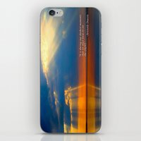 waldo iPhone & iPod Skins featuring Depth Of Life Quote Ralph Waldo Emerson by JuliaApostolova