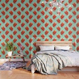 Kitsune (Fox of fire) Wallpaper