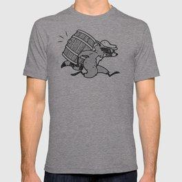 THE  WHISKEY SMUGGLER - vintage cartoon 80's T-shirt