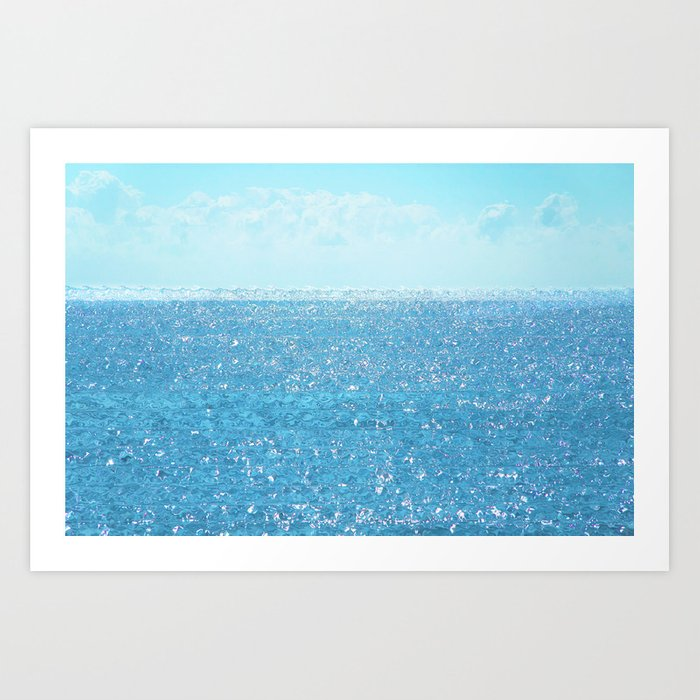 Crystal Pure Art Print
