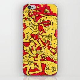 Graffiti Character Mashup iPhone Skin