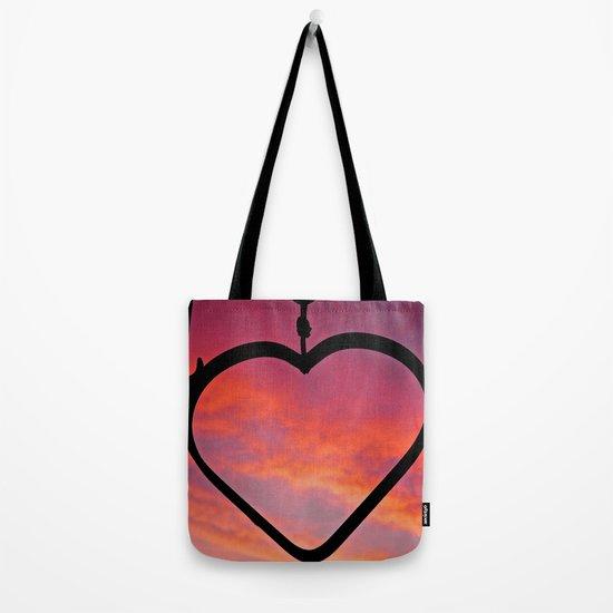 Love Sunset Tote Bag
