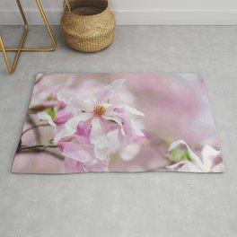 Pink Magnolia Spring Rug