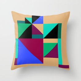 scandinavian chic Throw Pillow