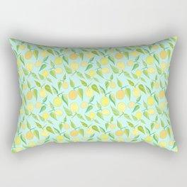Lemon Twist Rectangular Pillow