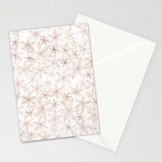 Flowers in light pattern Stationery Cards