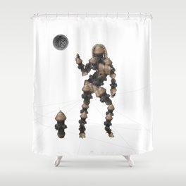 Sexy pump 2 Shower Curtain