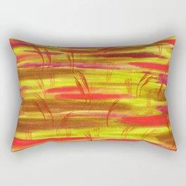 Late Summer Field Rectangular Pillow