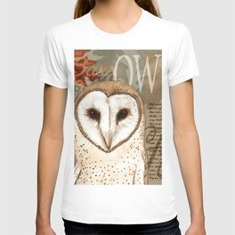 The Barn Owl Journal T-shirt