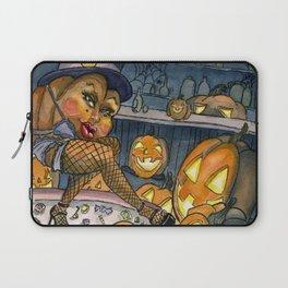 Pumpkin Stripper Laptop Sleeve