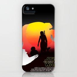 Rey Skywalker iPhone Case