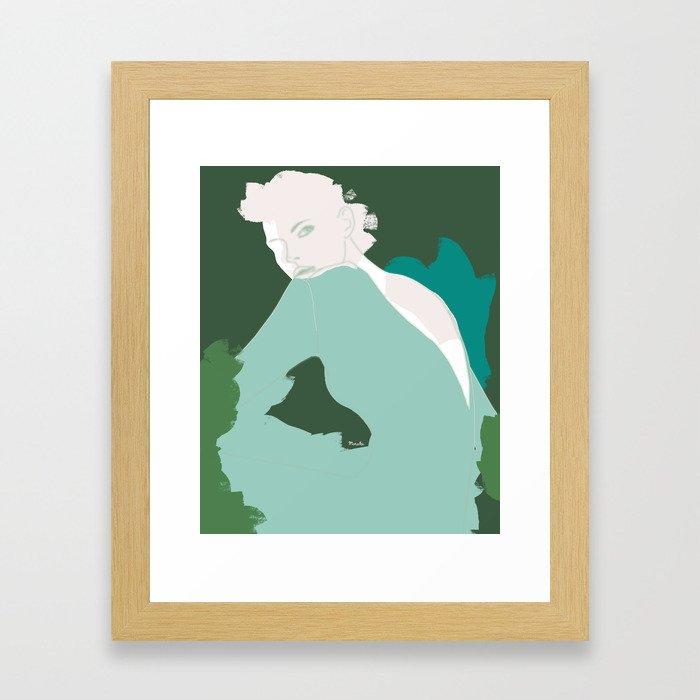 Beyond Feminism Framed Art Print
