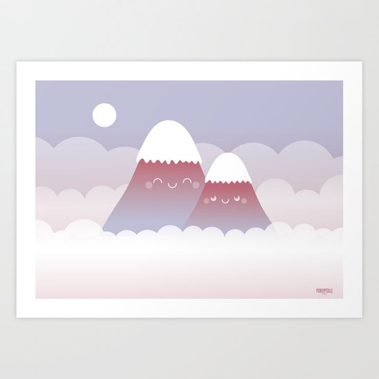 Contentment Art Print