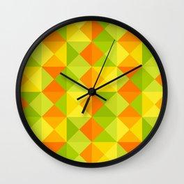 Native Nuno Wall Clock