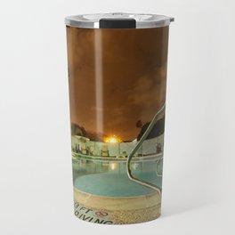Night Poolside Travel Mug