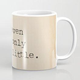 Buddha quote poster Coffee Mug