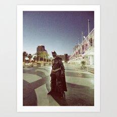 Who is Bruce Wayne Art Print