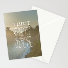 Oddly Placed Quotes 2 : Thug Life Stationery Cards