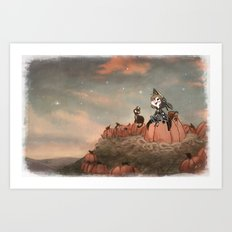 Harvest Noon Art Print