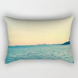 Sunset in Nahant Rectangular Pillow