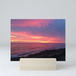 Sky On Fire Mini Art Print