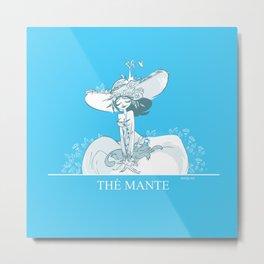 Thé Mante Metal Print