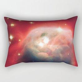 Cone Nebula, Galaxy Background, Universe Large Print, Space Wall Art Decor, Deep Space Poster Decor Rectangular Pillow
