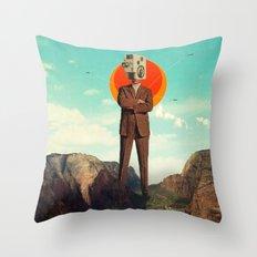 Video404 Throw Pillow