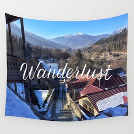 Wanderlust // #TravelSeries Wall Tapestry