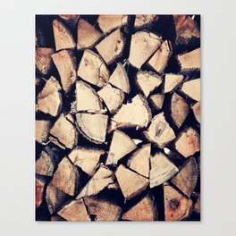 Keep The Fire Burning Canvas Print