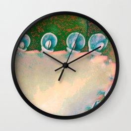 Kalanchoe Abstract Wall Clock