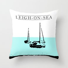 Two little Boats Throw Pillow
