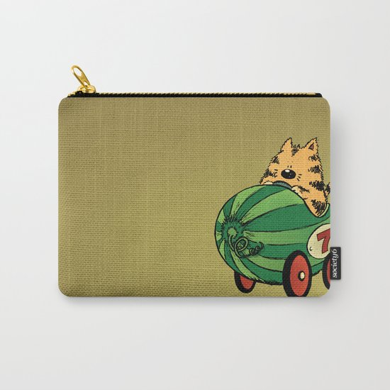Albert and his watermelon ride Carry-All Pouch