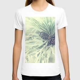 Pinecones and needles T-shirt