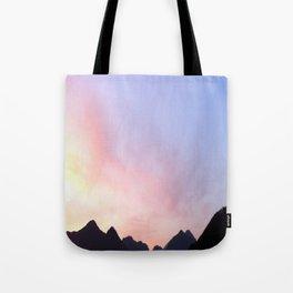 Kumano River Sunset Tote Bag