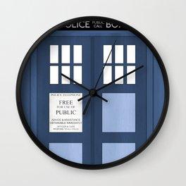 Doctor Who, Tardis Wall Clock