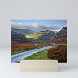 Valley of Rocks. Mini Art Print